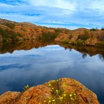 Post Oak Lake at Wichita Mountains