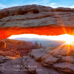 Sunrise at Mesa Arch, Canyonlands National Park