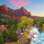 The Watchman Sunset at Zion National Park